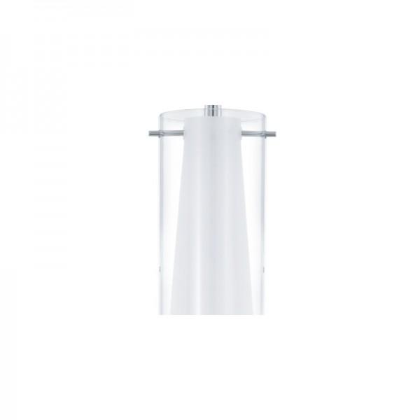 Lámpara de techo 4 luces cromo
