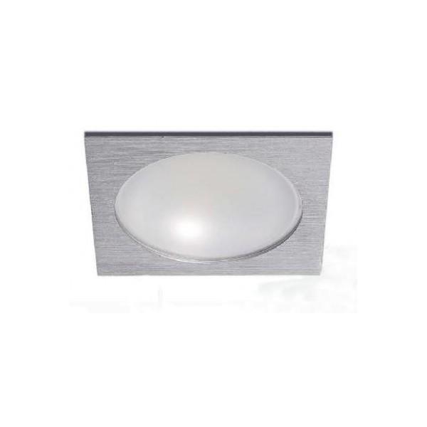 Empotrable led 18W Cuadrado Aluminio