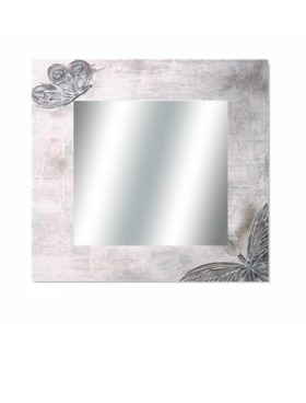 Espejo mariposas 80x80