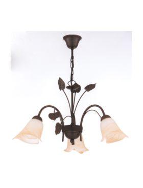 Lámpara techo rústica