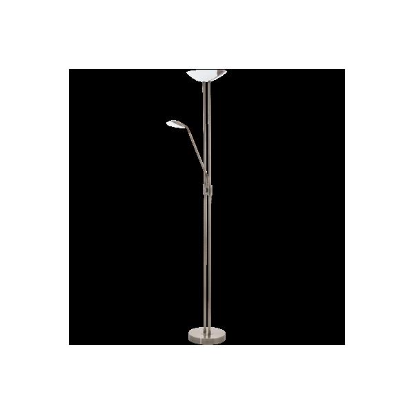 Lámpara de pie Led Cromo