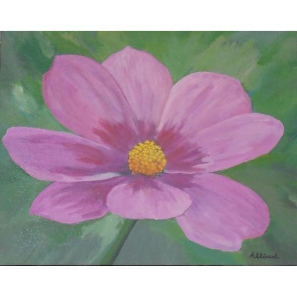 Cuadro Flor Blanca