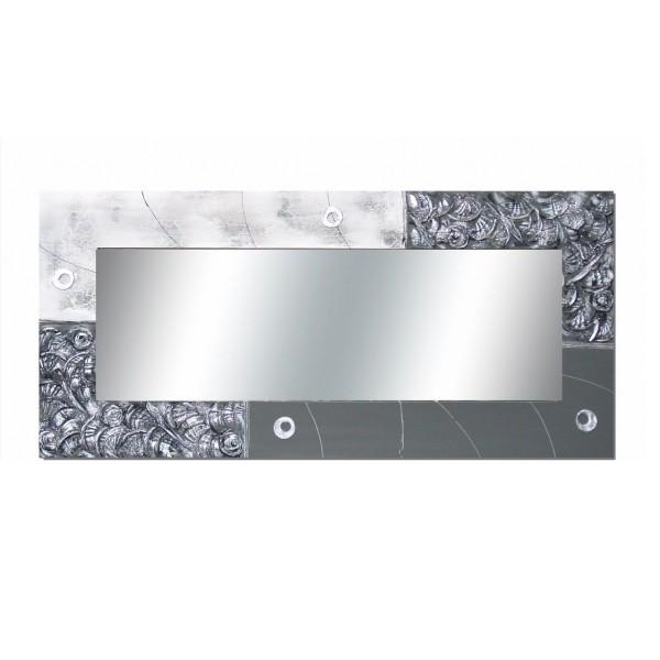 Espejo pared lienzo decorado 150x70