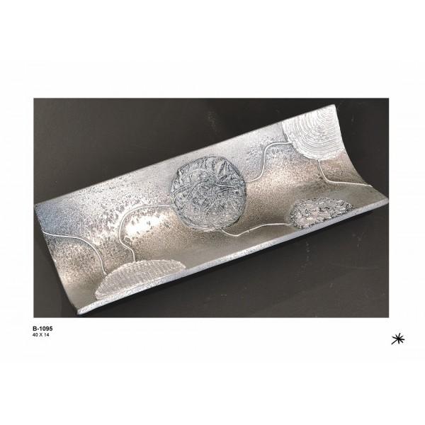 Centro de mesa ceramica 40x14
