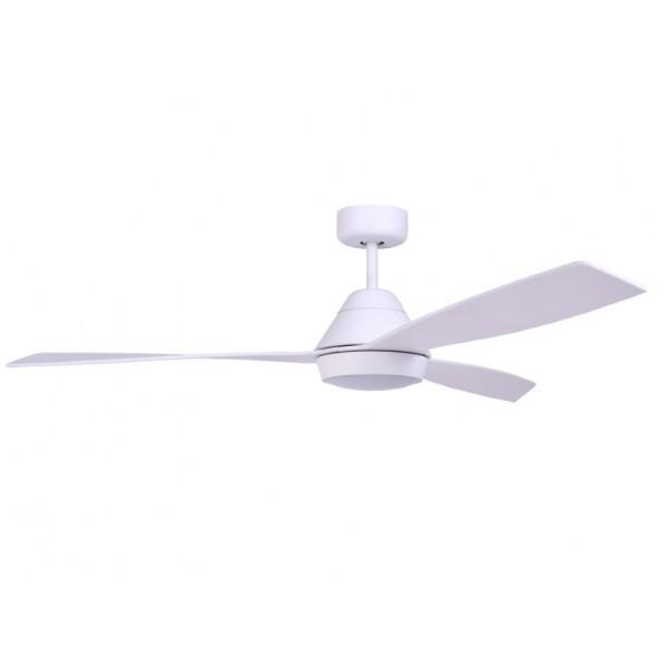 Ventilador techo blanco, led 18W