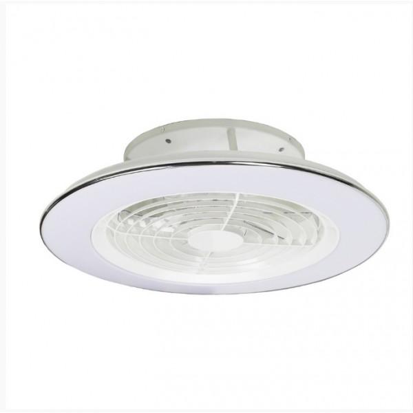 Ventilador Plafón led integrado blanco